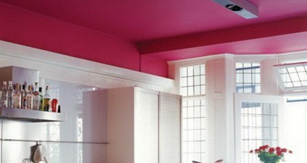 Выбираем краску и ЛКМ для потолка